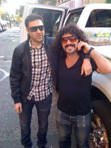 Daniel and Peter in L.A.