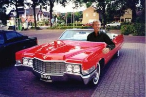 Peter in his 1969 Cadillac Coupe De Ville