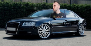 Jeton Is BAAAD in His Audi A8