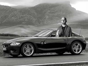 Brad in his BMW Z4 M Coupe