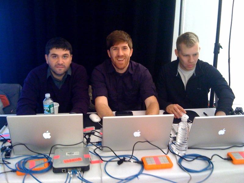 Martin Mitev, Marc Kelly and Noel Worden